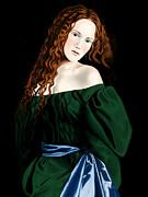 Lizzie Siddal Print by Andrew Harrison