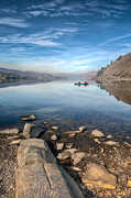 North Prints - Llanberis Lake Print by Adrian Evans