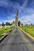 Llandinorwig Church Print by Ian Mitchell