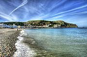 Svetlana Sewell Photo Prints - Llandudno Beach Print by Svetlana Sewell