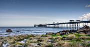 Wales Digital Art - Llandudno Pier - North Wales by George Standen