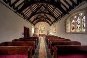 Church Digital Art Prints - Llandysilio Traean Print by Adrian Evans