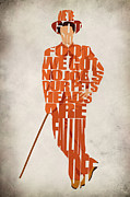 Typographic Prints - Lloyd Christmas Print by Ayse T Werner