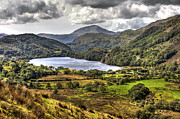 Wales Digital Art - Llyn Gwynant - North Wales by George Standen