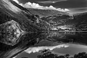 Llyn Gwynant Wales Print by Dorit Fuhg