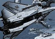Loaded For Tank Print by Joseph Juvenal