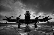 Lancaster Bomber Prints - Loaded Print by Jason Green