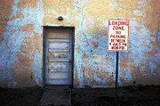 Marfa Texas Posters - Loading Zone Poster by Jeff Montgomery