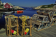 Sally Weigand - Lobster Traps