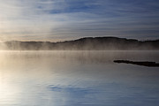 Jetty View Park Prints - Loch Ard Morning Mist Print by Maria Gaellman
