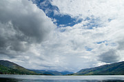 Loch Broom Print by Ron Pettitt