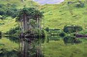 European Union Prints - Loch Eilt - D002522 Print by Daniel Dempster
