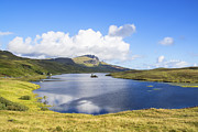 Highlands Of Scotland Prints - Loch Fada to the Storr 2 Print by Chris Thaxter