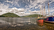 Puffer Photo Framed Prints - Loch Fyne 01 Framed Print by Antony McAulay