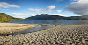 Shingle Framed Prints - Loch Lomond pano Framed Print by Jane Rix