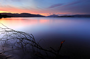 Grant Glendinning Framed Prints - Loch Lomond Sunset Framed Print by Grant Glendinning