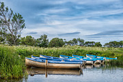 Scottish Originals - Loch Watten Boats by Mike Stephen