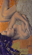 Silk Posters - Locked in Silence Poster by Dorina  Costras