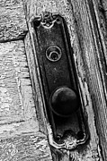 Knob Photo Prints - Locked Up Print by Off The Beaten Path Photography - Andrew Alexander