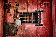 Hardware Photo Metal Prints - Locked Up Metal Print by Olivier Le Queinec