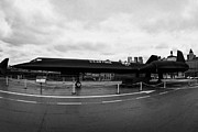 Manhatan Prints - Lockheed A12 Blackbird on the flight deck of the USS Intrepid new york city Print by Joe Fox