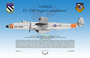 Ma Digital Art - Lockheed EC-121H Super Constellation by Arthur Eggers