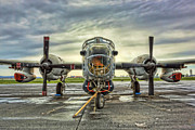 Modern World Photography Art - Lockheed P-2 Neptune Gunship by Lee Dos Santos