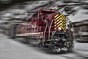 Grande Digital Art - Locomotion by Ellen Lacey