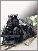 Thomas Woolworth Photography Framed Prints - Locomotive 639 Type 2 8 2 Out of Bounds Framed Print by Thomas Woolworth