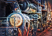 Maschine Framed Prints - Locomotive Framed Print by Gunter Nezhoda