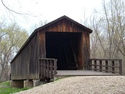 Locust Creek Covered Bridge Print by Mark McReynolds