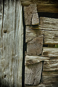 Dick Wood - Log Cabin Detail