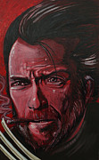Clint Eastwood Art Framed Prints - Logan Eastwood Framed Print by Joshua Dixon