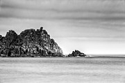 Cornish Prints - Logan Rock Headland Print by John Farnan