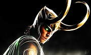 Thor Prints - Loki Print by The DigArtisT