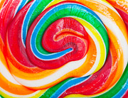 Lolly Pop Prints - Lollipop background Print by Steve Mcsweeny