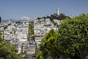 Adam Romanowicz - Lombard Street and Coit Tower on Telegraph Hill