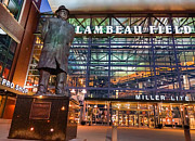 Lambeau Field Metal Prints - Lombardi At Lambeau Metal Print by Bill Pevlor
