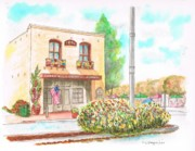 Ocre Paintings - Lompoc Chamber of Comerce - Lompoc - California by Carlos G Groppa