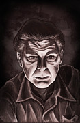 Wolfman Prints - Lon Chaney Jr Print by Alexa Renee Smothers
