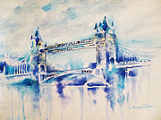 London Print Originals - London - Tower Bridge 2 by Ahmed Abbas