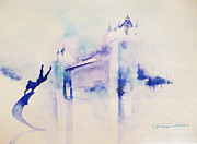 London Print Originals - London - Tower Bridge 3 by Ahmed Abbas