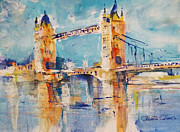 London Print Originals - London - Tower Bridge 4 by Ahmed Abbas