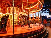 Amusement Ride Prints - London 108 Print by Lance Vaughn