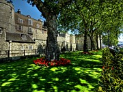 Tower Of London Prints - London 119 Print by Lance Vaughn