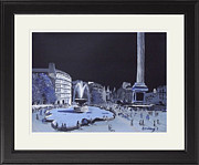 Trafalgar Paintings - London and Trafalgar Square       by Darren Andrews