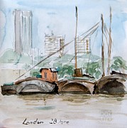 Bakhtiar Umataliev - London Barges....