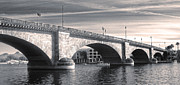 London Bridge Panorama Print by Gregory Dyer