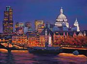 London Calling. Autumn Print by Johnathan Harris