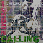 The Clash Prints - London Calling Print by Gary Hogben